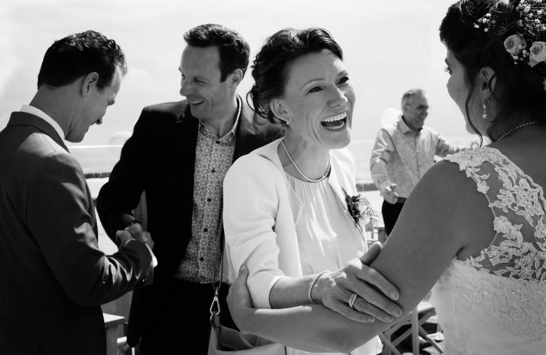 Ceremonie bruidspaar fotograaf Zeeland